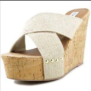 Steve Madden Pride Women's textile Wedges shoes